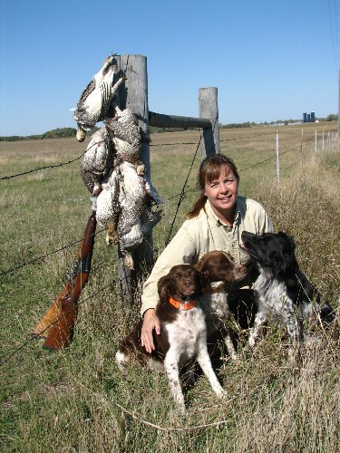 Sherry, 3dogs and grouse limit
